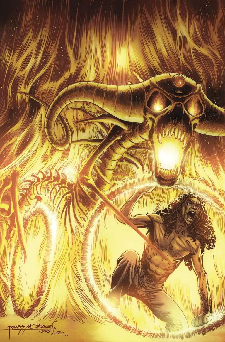 Amory Wars III Good Apollo I'm Burning Star IV #4 (Cover A Rags Morales)