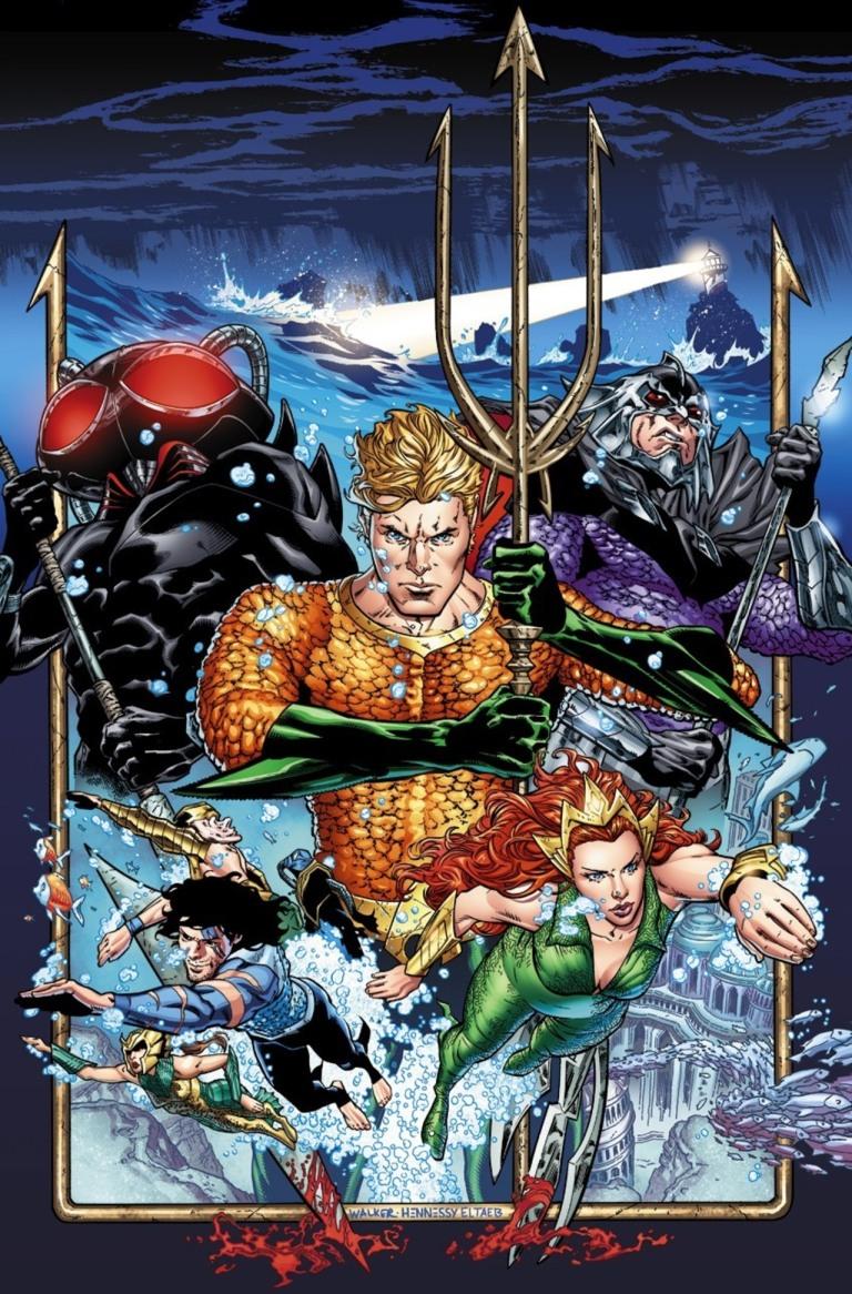 Aquaman #1 (Brad Walker & Drew Hennessey Regular Cover)