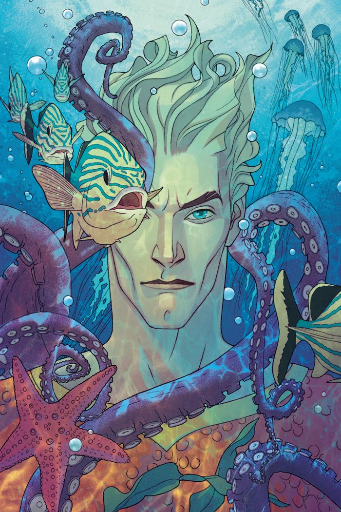 Aquaman #1 (Joshua Middleton Variant Cover)