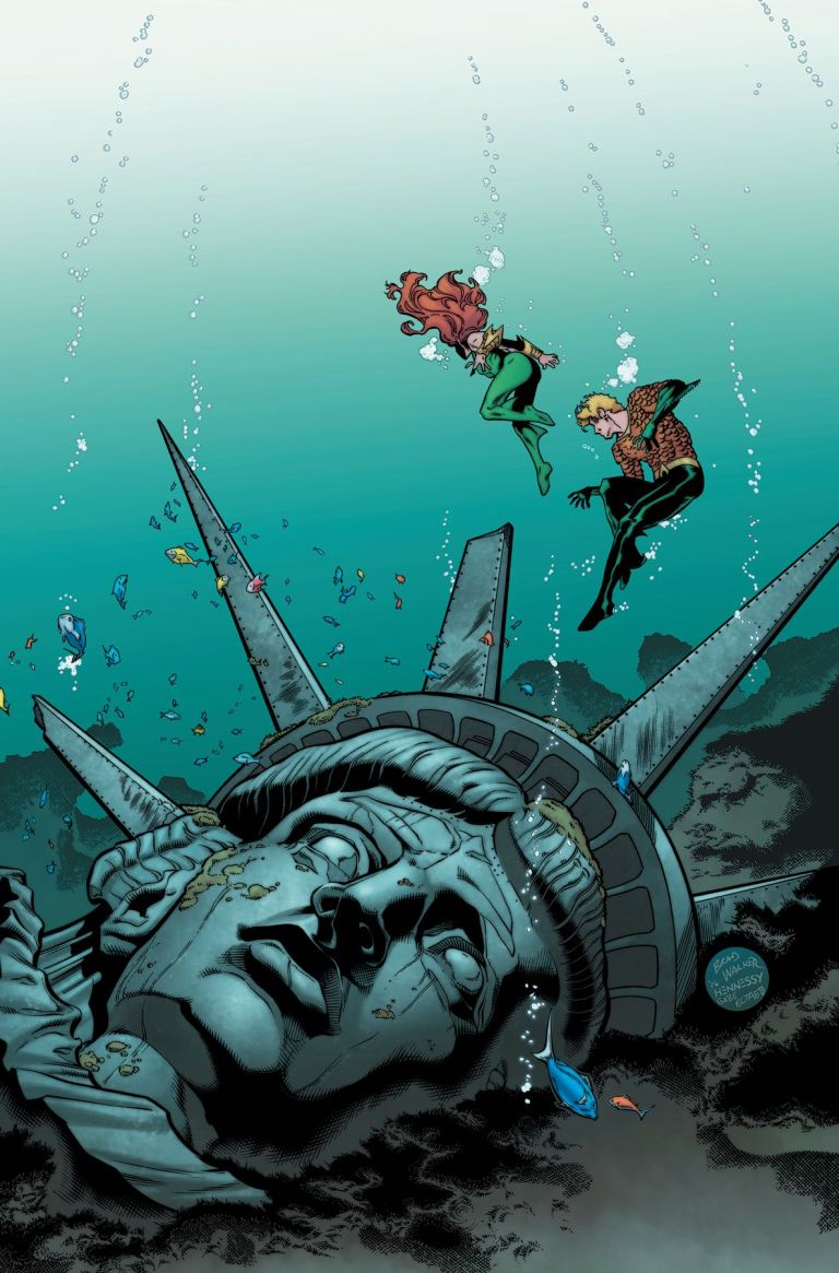Aquaman #12 (Cover A Brad Walker & Andrew Hennessey)