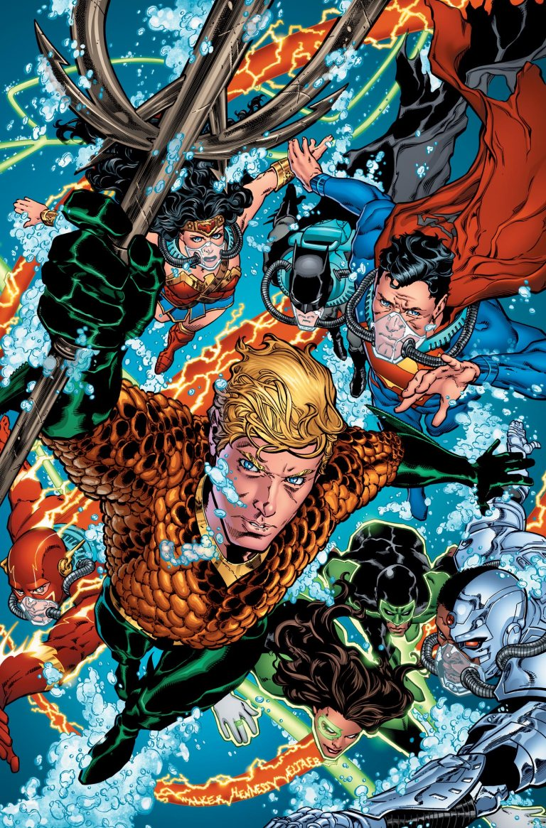 Aquaman #13 (Cover A Brad Walker & Andrew Hennessy)
