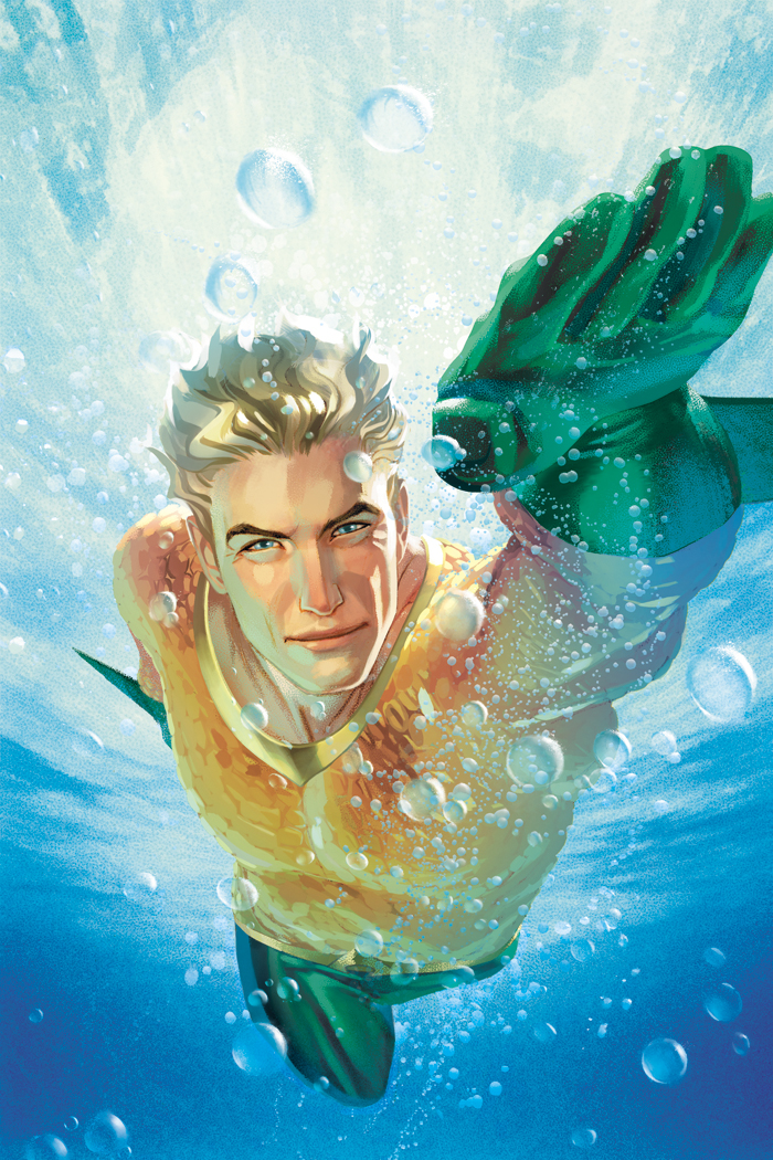 Aquaman #14 (Cover B Joshua Middleton)