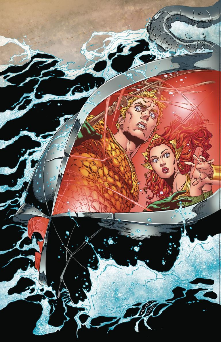 Aquaman #15 (Cover A Brad Walker & Andrew Hennessy)