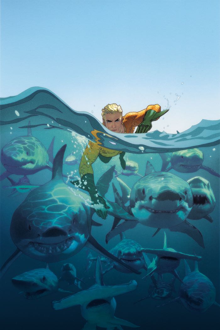 Aquaman #18 (Cover B Joshua Middleton)