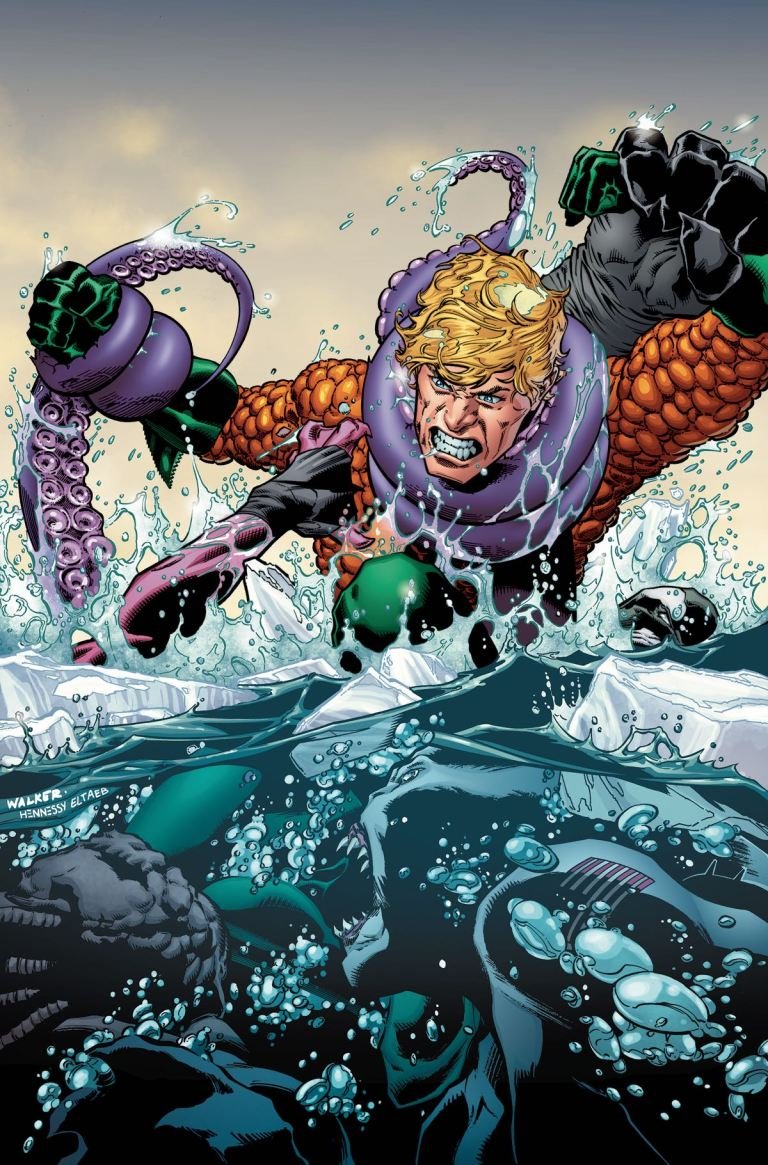 Aquaman #19 (Cover A Andrew Hennessy & Bradley Walker)