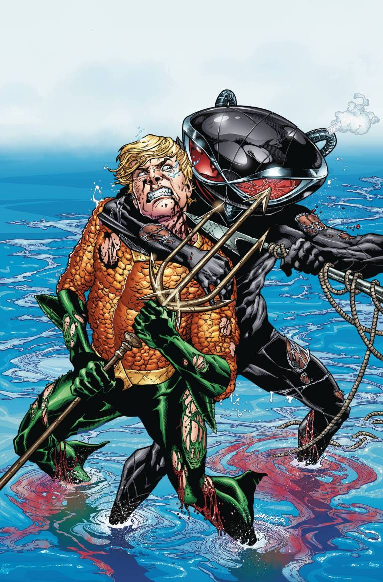 Aquaman #2 (Cover A Brad Walker & Andrew Hennessy)
