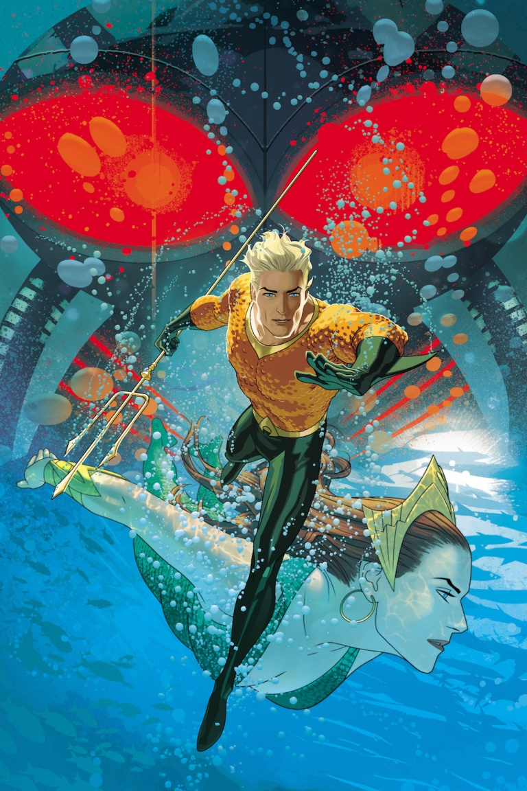 Aquaman #2 (Cover B Joshua Middleton)