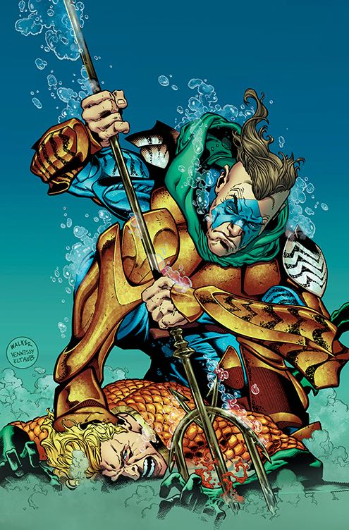 Aquaman #24 (Cover A Brad Walker & Andrew Hennessy)