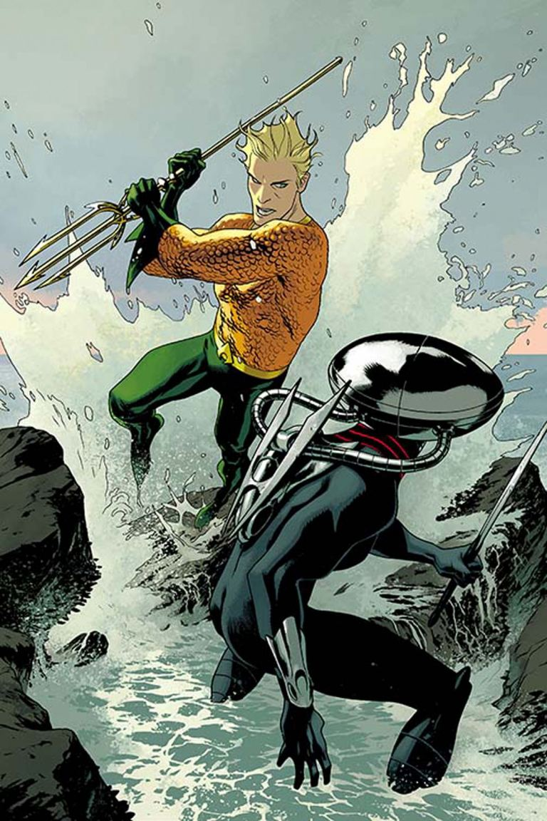 Aquaman #3 (Cover B Joshua Middleton)