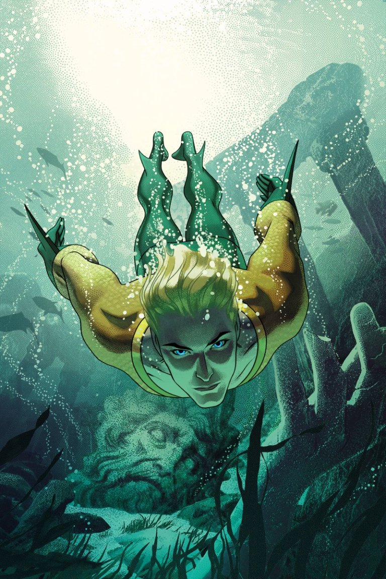 Aquaman #4 (Cover B Joshua Middleton)