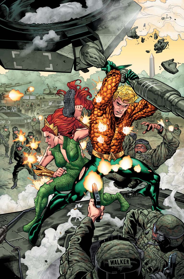 Aquaman #5 (Cover A Brad Walker & Andrew Hennessy)