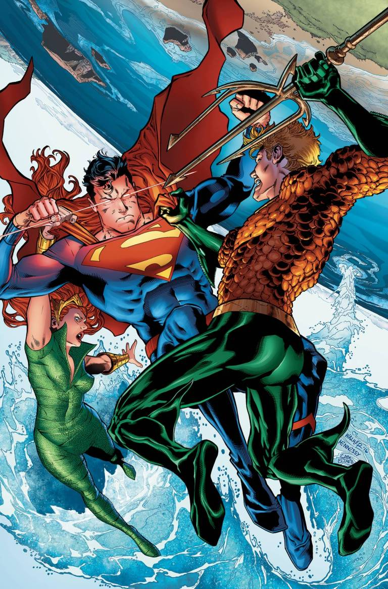 Aquaman #6 (Cover A Brad Walker & Andrew Hennessey)