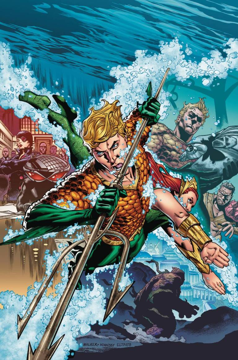 Aquaman #7 (Cover A Brad Walker & Andrew Hennessey)