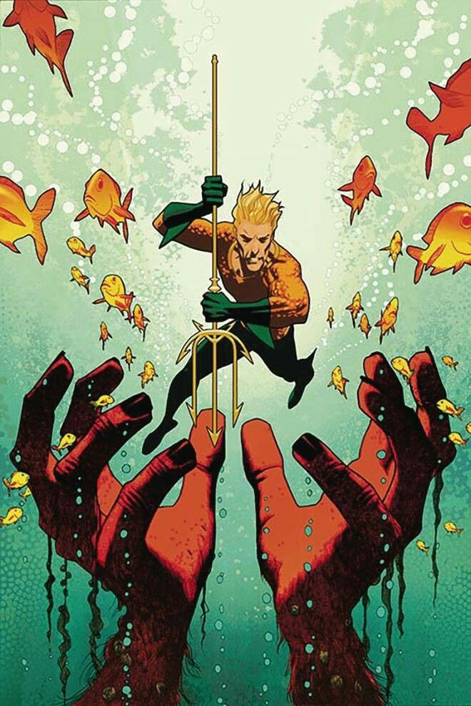 Aquaman #7 (Cover B Joshua Middleton)