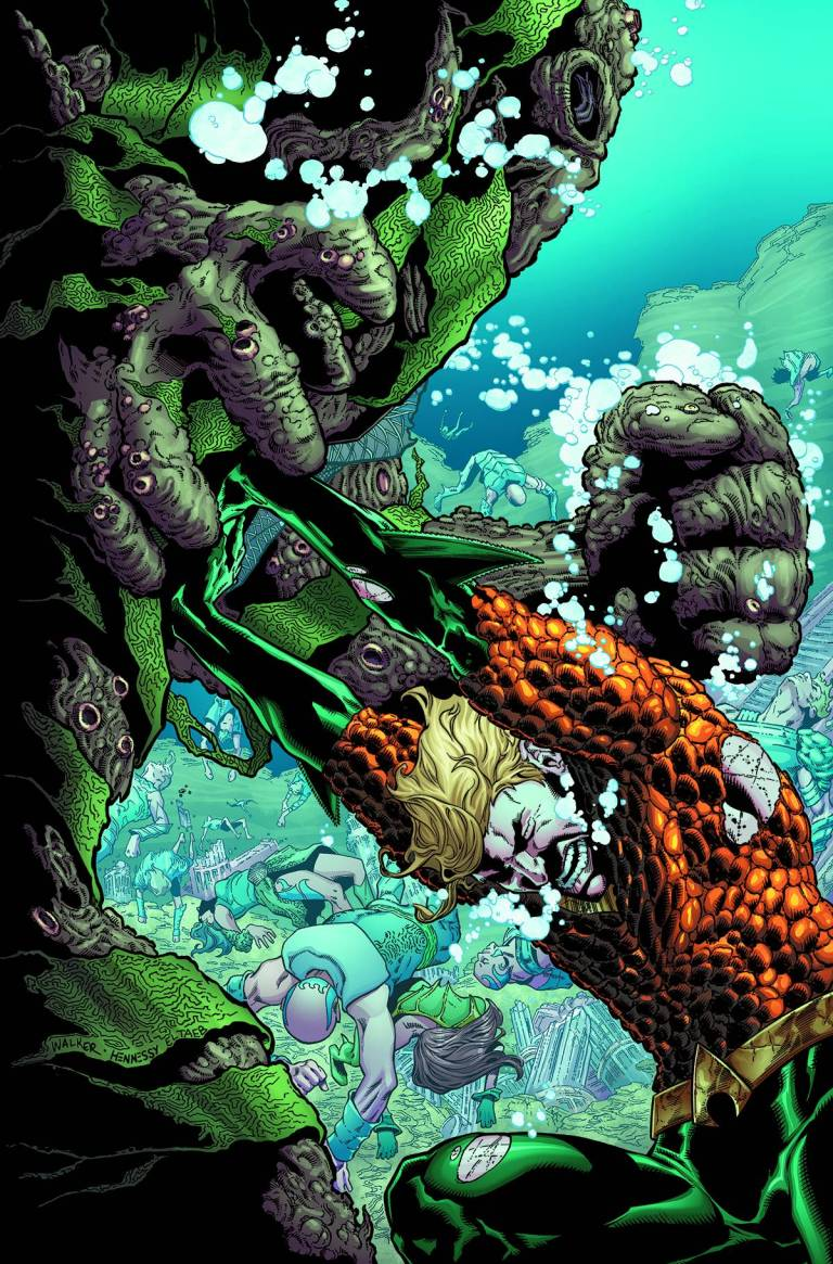Aquaman #8 (Cover A Brad Walker & Andrew Hennessy), $2.99