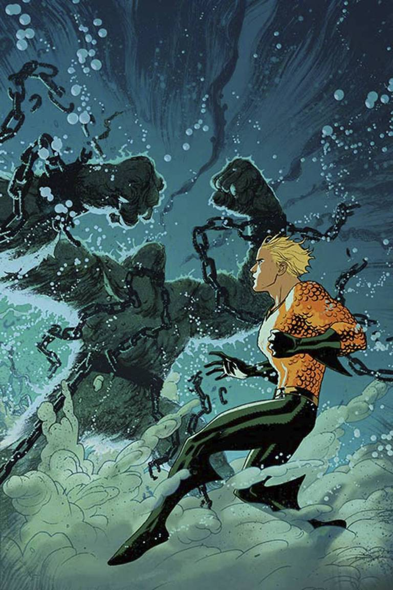 Aquaman #8 (Cover B Joshua Middleton)
