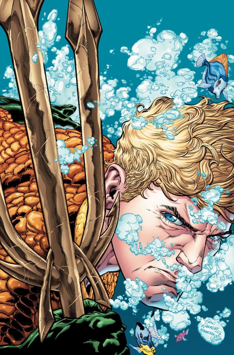 Aquaman Rebirth #1 (Brad Walker & Drew Hennessey Regular Cover)