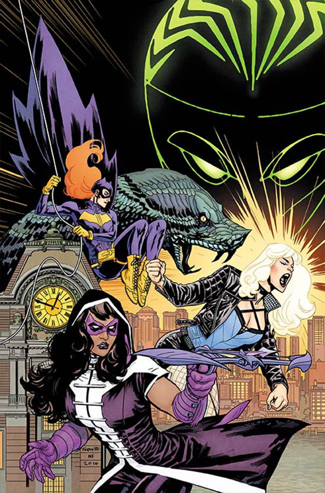 Batgirl And The Birds Of Prey #1 (Cover A Yanick Paquette)