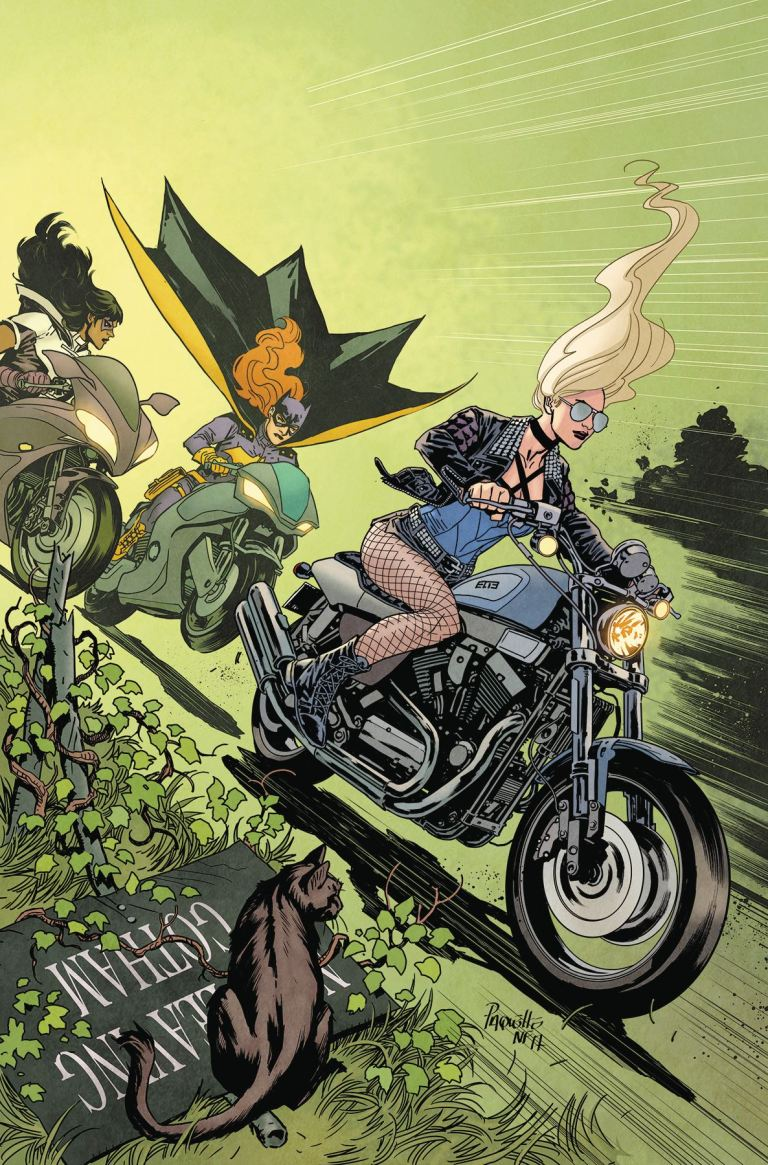Batgirl And The Birds Of Prey #14 (Cover A Yanick Paquette)