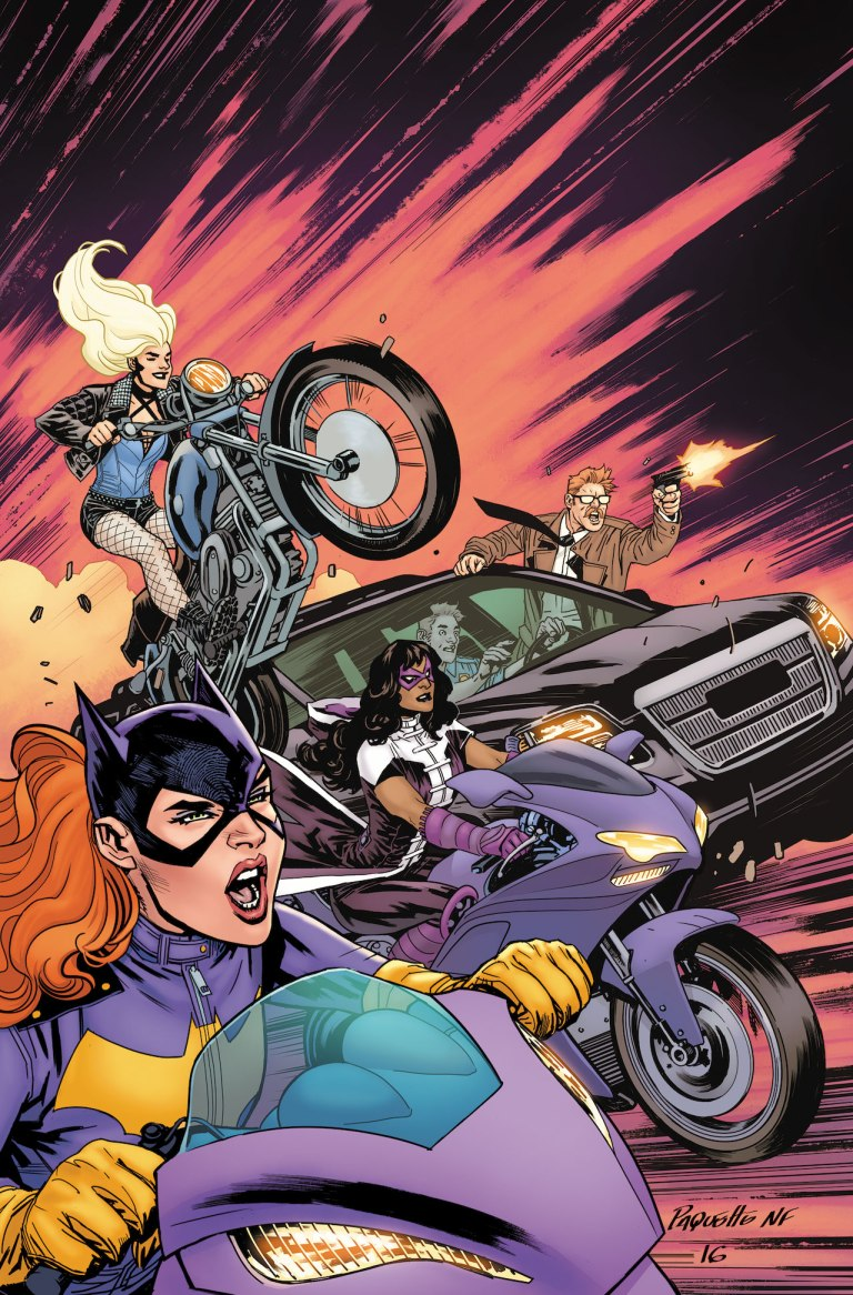 Batgirl And The Birds Of Prey #2 (Cover A Yanick Paquette)