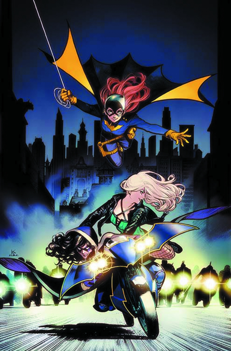 Batgirl And The Birds Of Prey #2 (Cover B Karmome Shirahama)