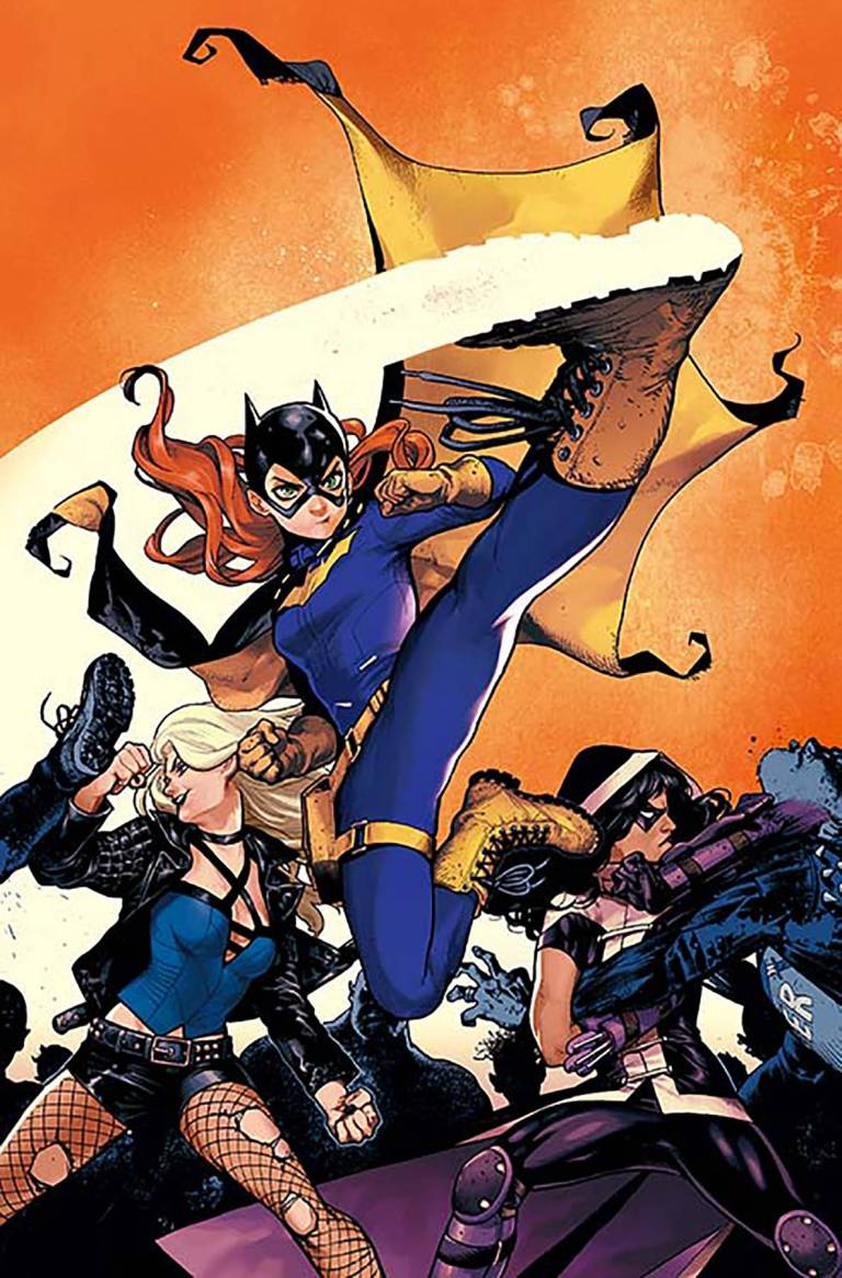 Batgirl And The Birds Of Prey #3 (Karmome Shirahama Cover)