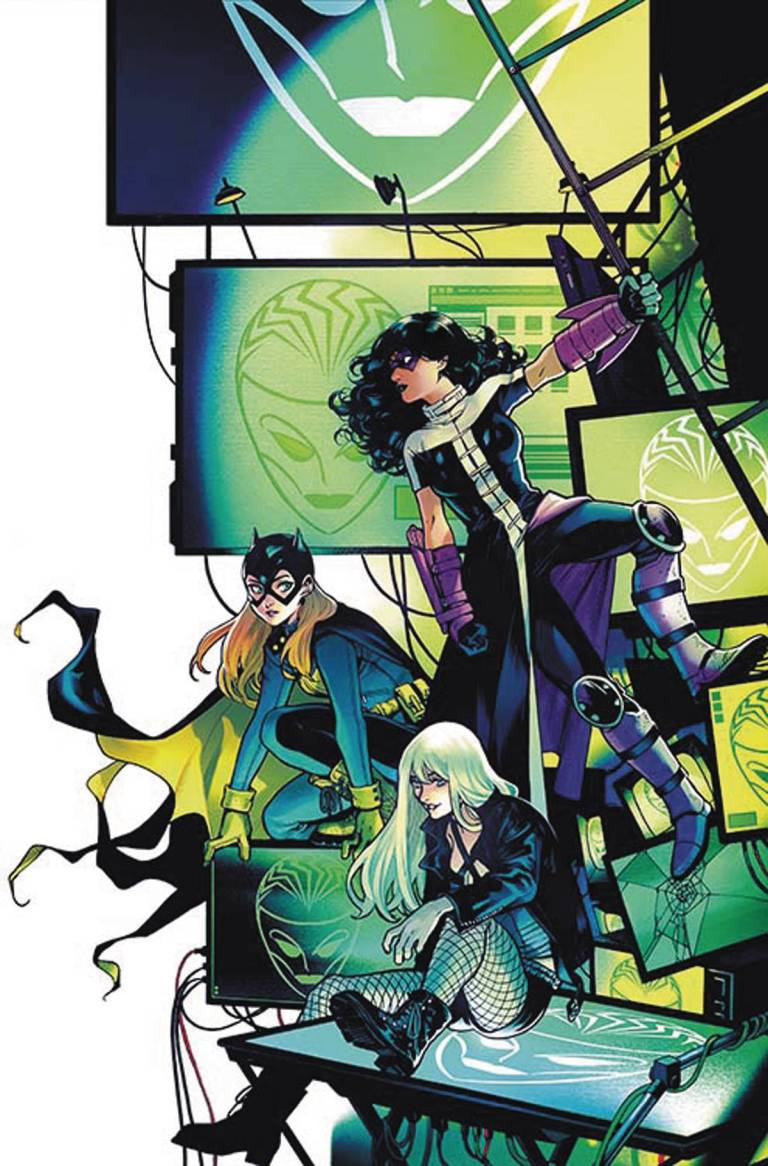 Batgirl And The Birds Of Prey #4 (Cover A Yanick Paquette)