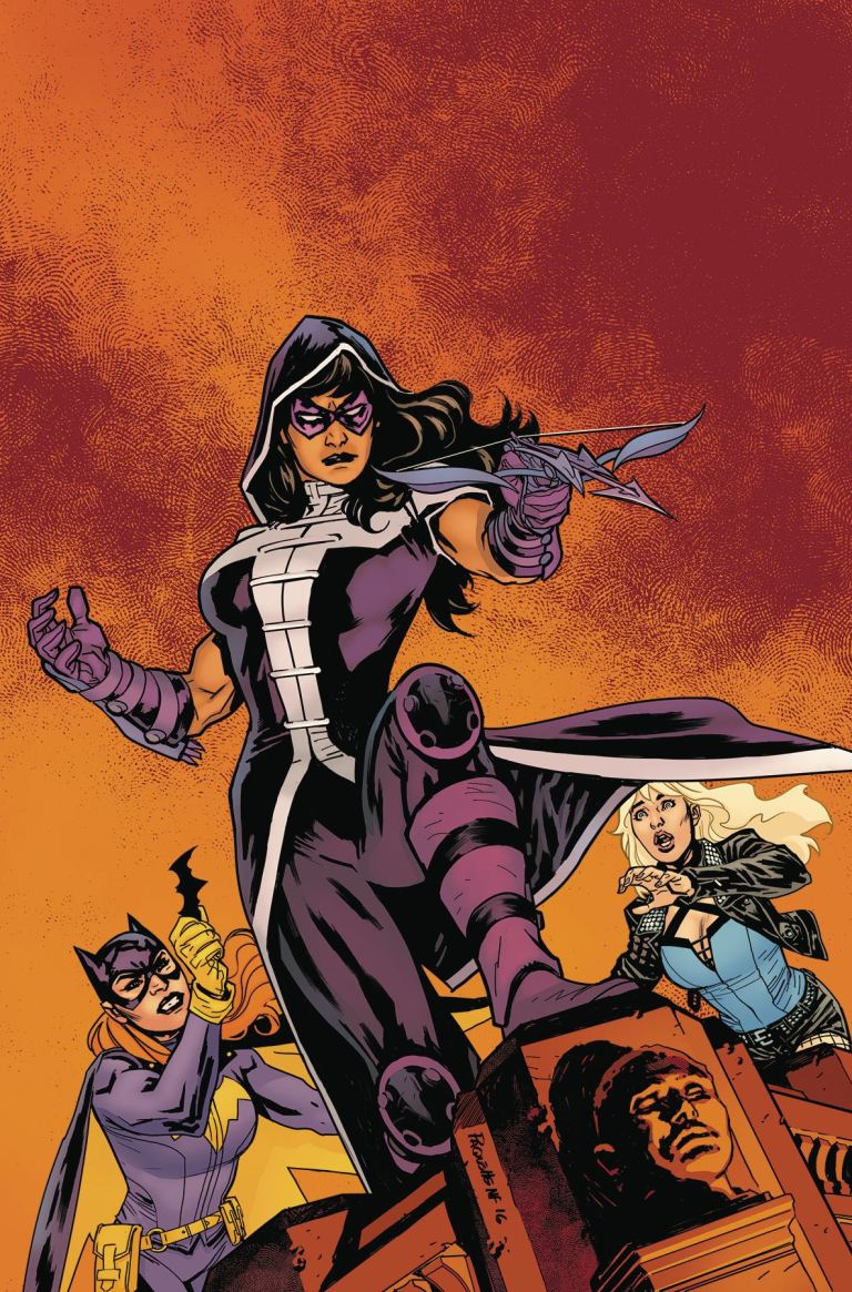 Batgirl And The Birds Of Prey #6 (Cover A Yanick Paquette)