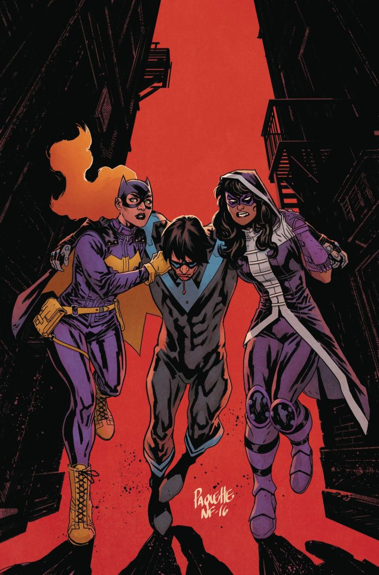 Batgirl And The Birds Of Prey #8 (Cover A Yanick Paquette)