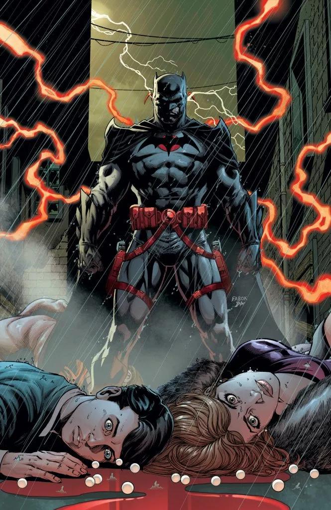 Batman #22 (Cover A Jason Fabok Nonlenticular Edition)