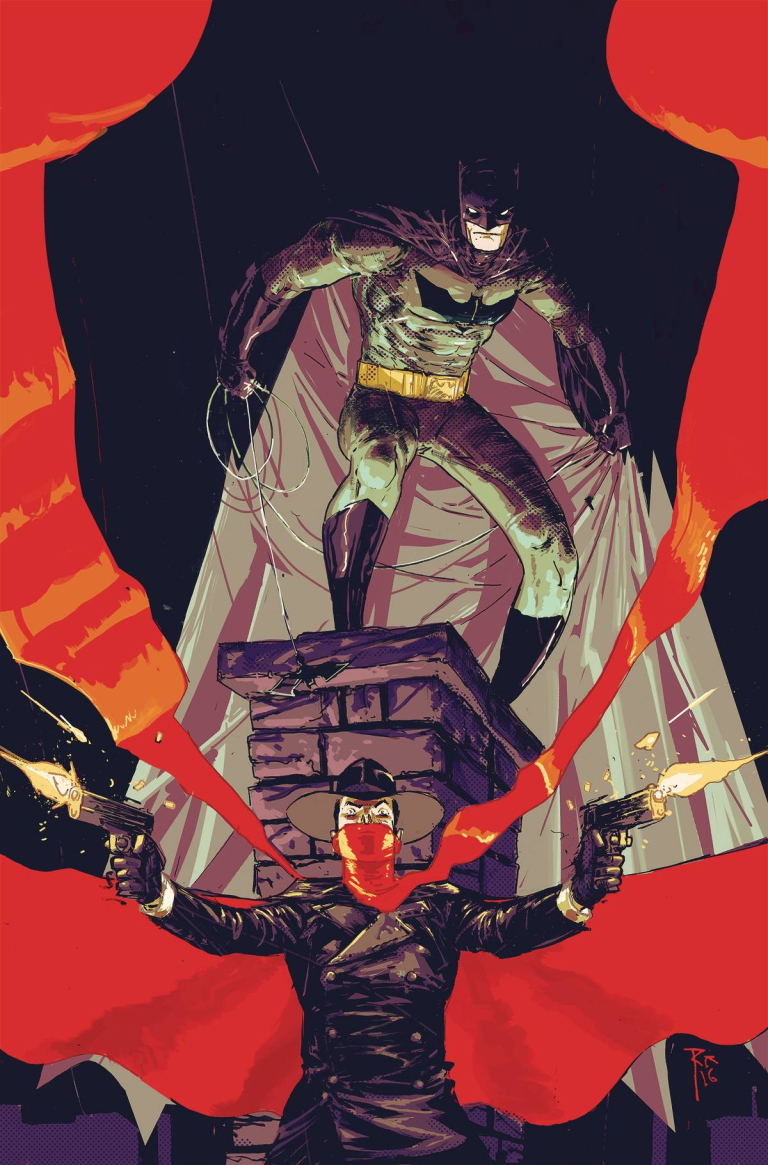 Batman The Shadow #1 (Cover A Riley Rossmo)