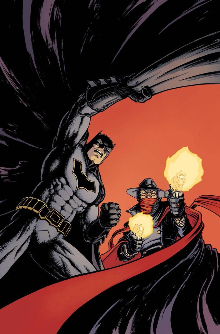 Batman The Shadow #2 (Cover C Chris Burnham)