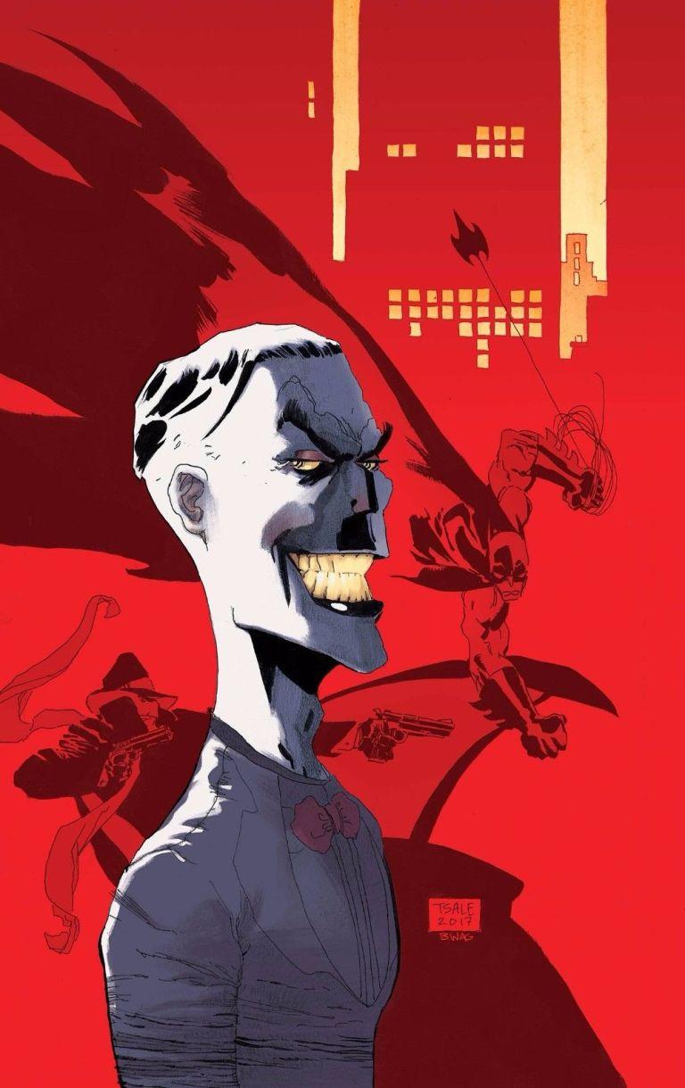 Batman The Shadow #3 (Cover C Tim Sale)