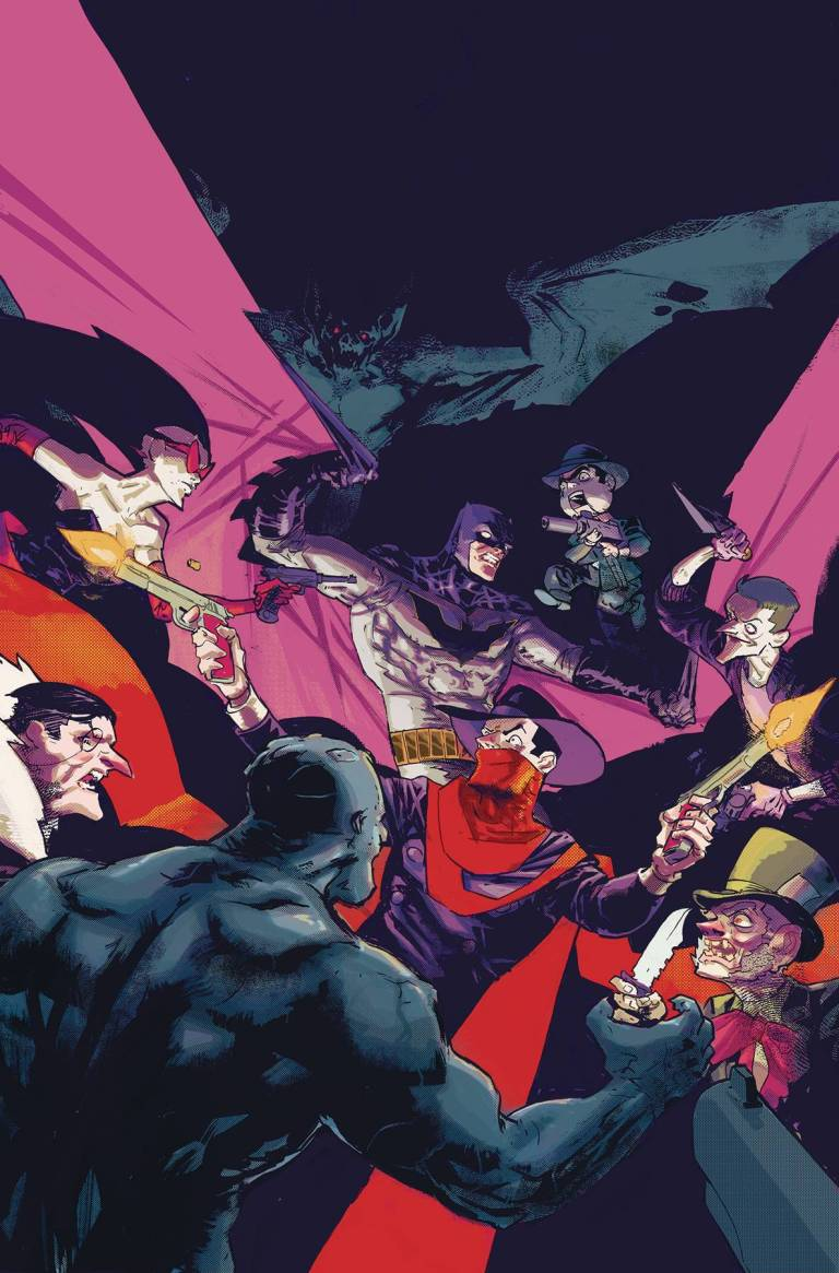 Batman The Shadow #4 (Cover A Riley Rossmo)