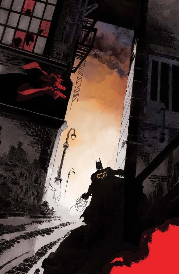 Batman The Shadow #4 (Cover B Tim Sale)
