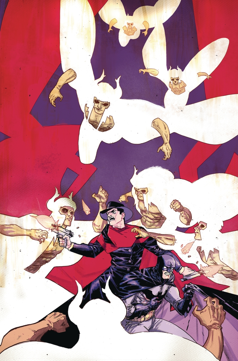 Batman The Shadow #5 (Cover A Riley Rossmo)