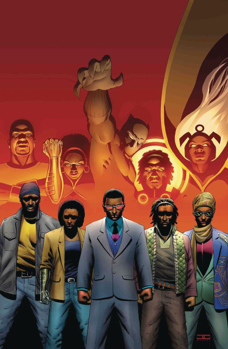 Black Panther And The Crew #6 (John Cassaday Cover)