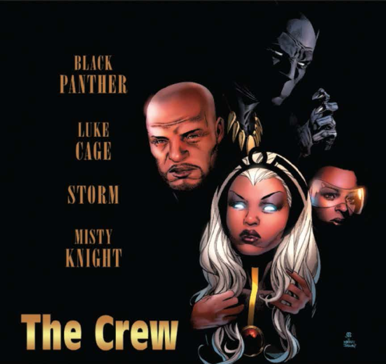 Black Panther The Crew #1 (Cover B Jim Cheung Hip-Hop Variant)