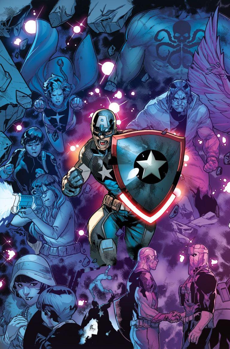 Captain America Steve Rogers #16 (Cover B R. B. Silva Connecting Variant A)