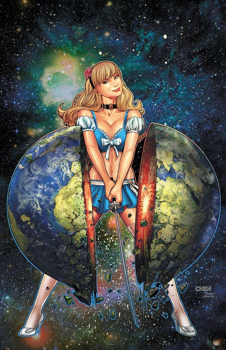 Cinderella Serial Killer Princess #1 (Cover D Sean Chen)