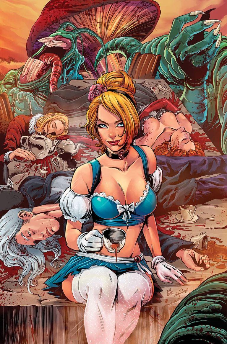 Cinderella Serial Killer Princess #3 (Cover D Allan Otero)