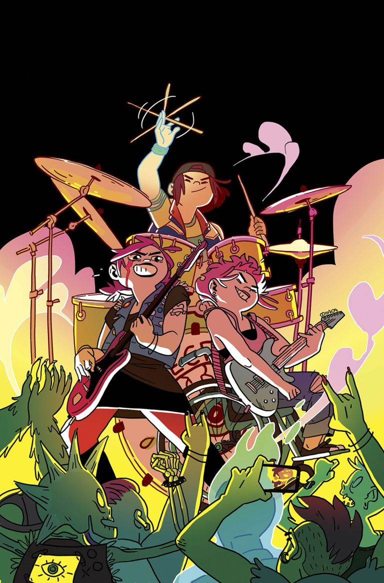 Coady And The Creepies #1 (Cover A Kat Leyh)