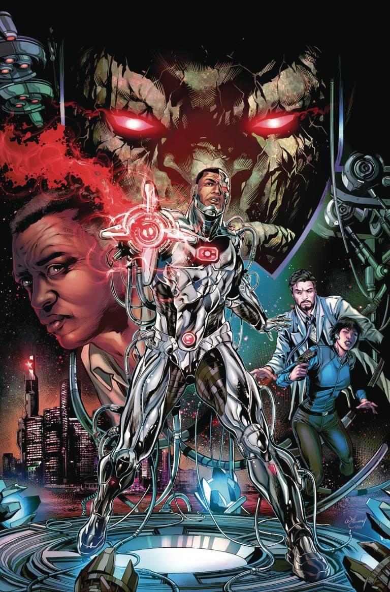 Cyborg #1 (Cover A Will Conrad)