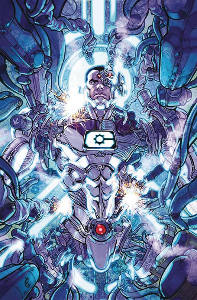 Cyborg #1 (Cover B Carlos D'Anda)