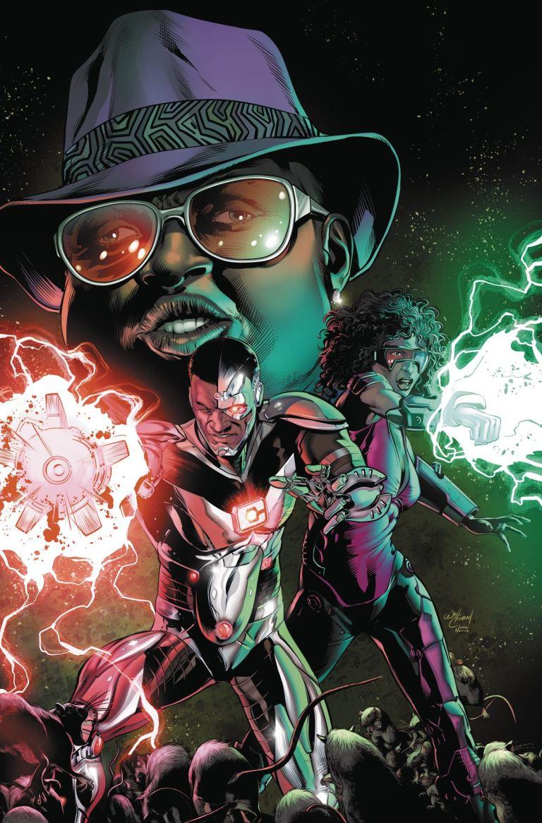 Cyborg #10 (Cover A Will Conrad)