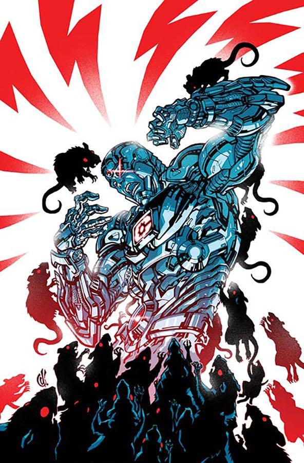 Cyborg #10 (Cover B Carlos D'Anda)