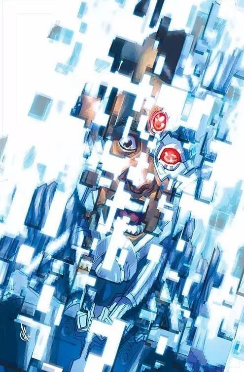 Cyborg #11 (Cover B Carlos D'Anda)