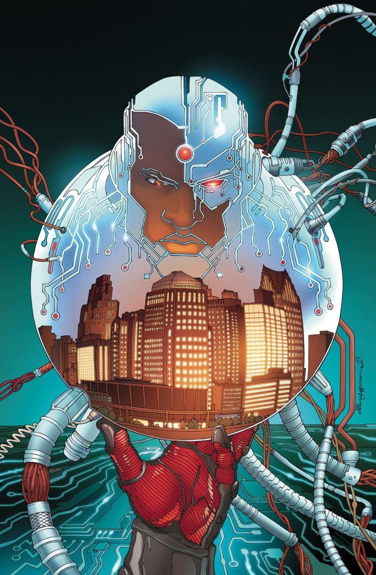Cyborg #13 (Cover A Allan Jefferson)