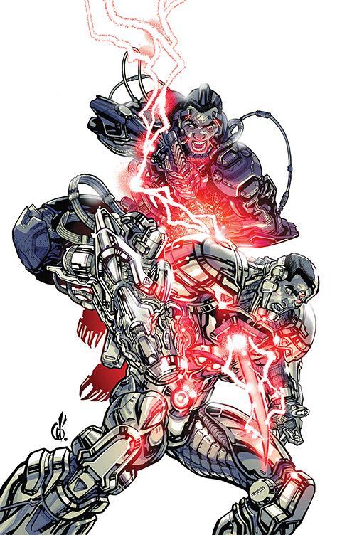 Cyborg #13 (Cover B Carlos D'Anda)