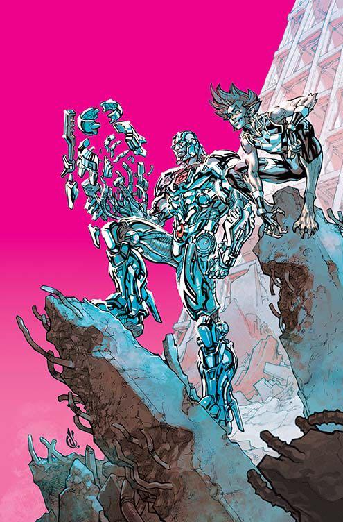 Cyborg #14 (Cover B Carlos D'Anda)